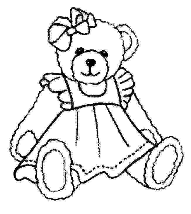 colouring pages of teddy bear free printable teddy bear coloring pages for kids pages of teddy bear colouring 1 1