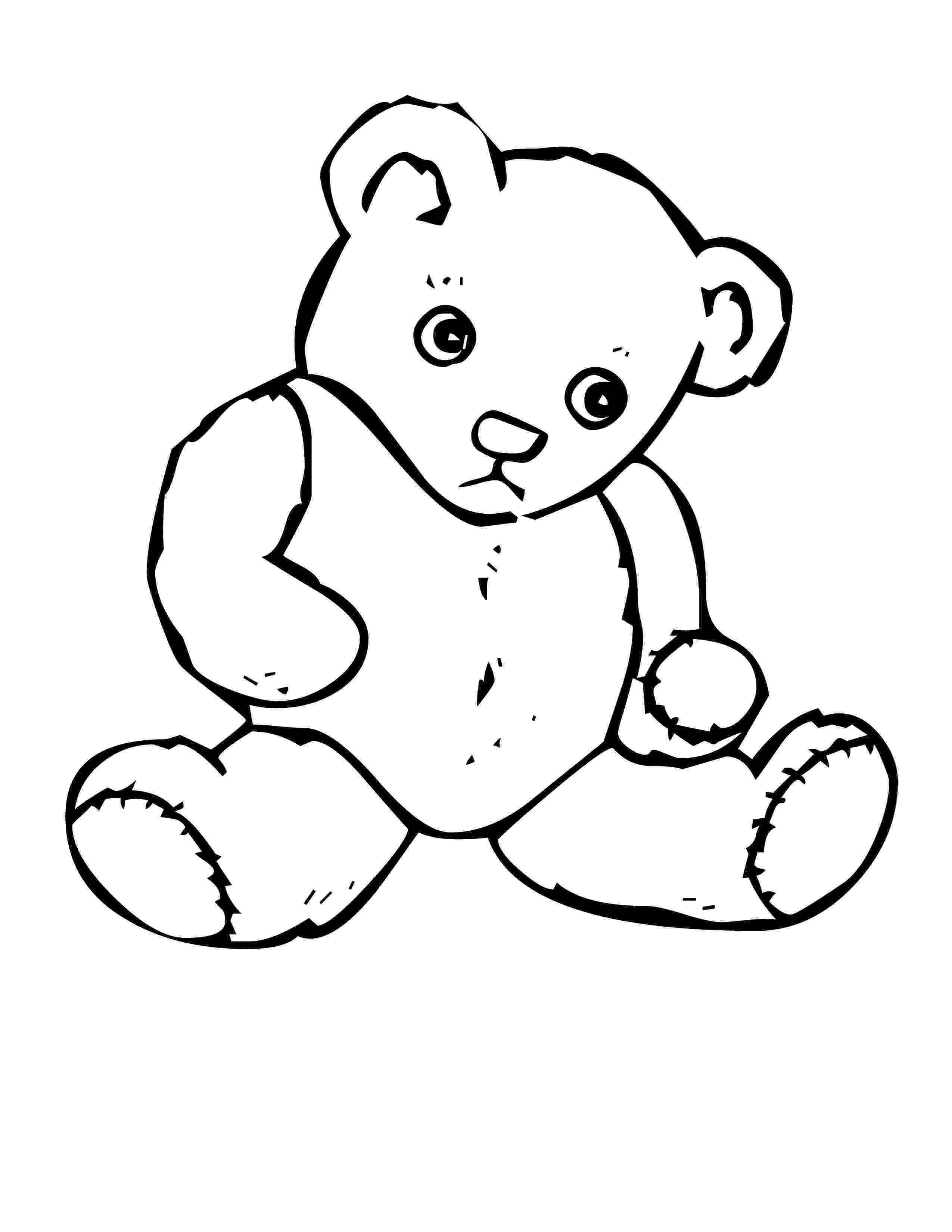 colouring pages of teddy bear free printable teddy bear coloring pages for kids teddy pages of colouring bear