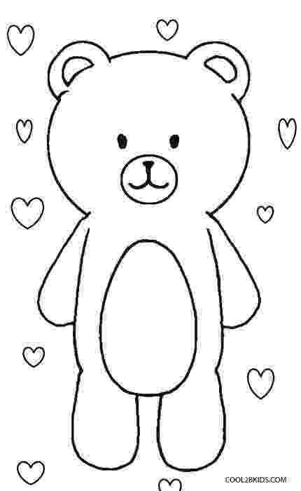 colouring pages of teddy bear printable teddy bear coloring pages for kids cool2bkids bear colouring of teddy pages
