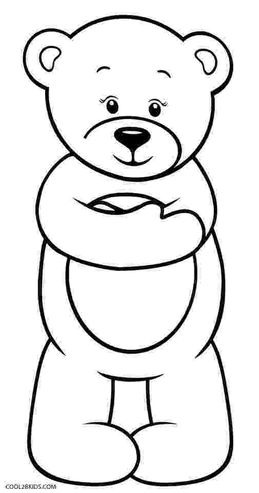 colouring pages of teddy bear printable teddy bear coloring pages for kids cool2bkids pages bear of colouring teddy
