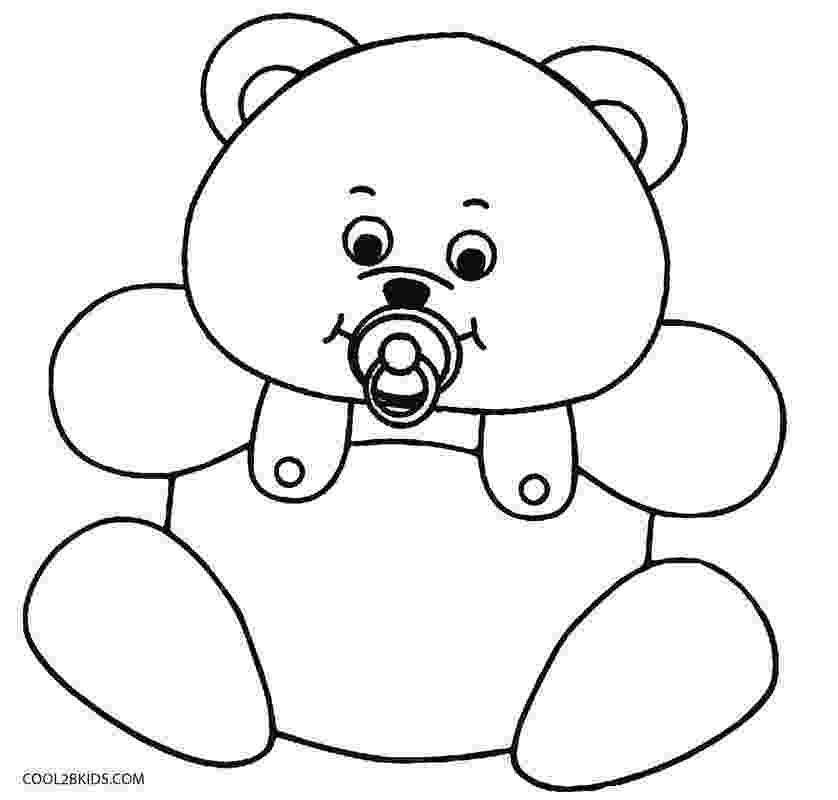 colouring pages of teddy bear teddy bear coloring pages for kids of pages teddy colouring bear