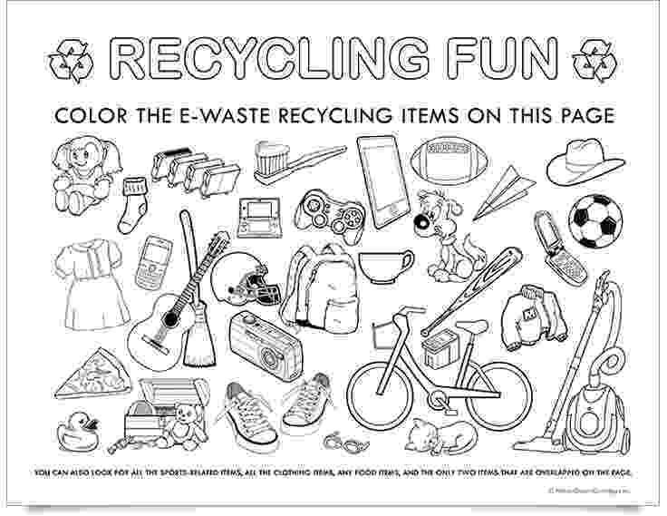 colouring pages recycling planet green recycle recycle e waste to raise fund recycling pages colouring