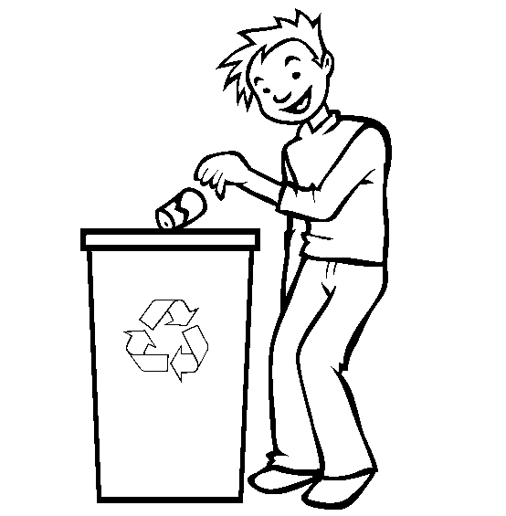 colouring pages recycling printable recycle logo clipartsco colouring pages recycling