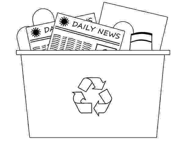 colouring pages recycling recycling bin coloring page coloring sky recycling pages colouring