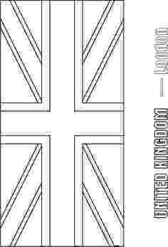 colouring pages union jack flag the union jack pages jack colouring union flag
