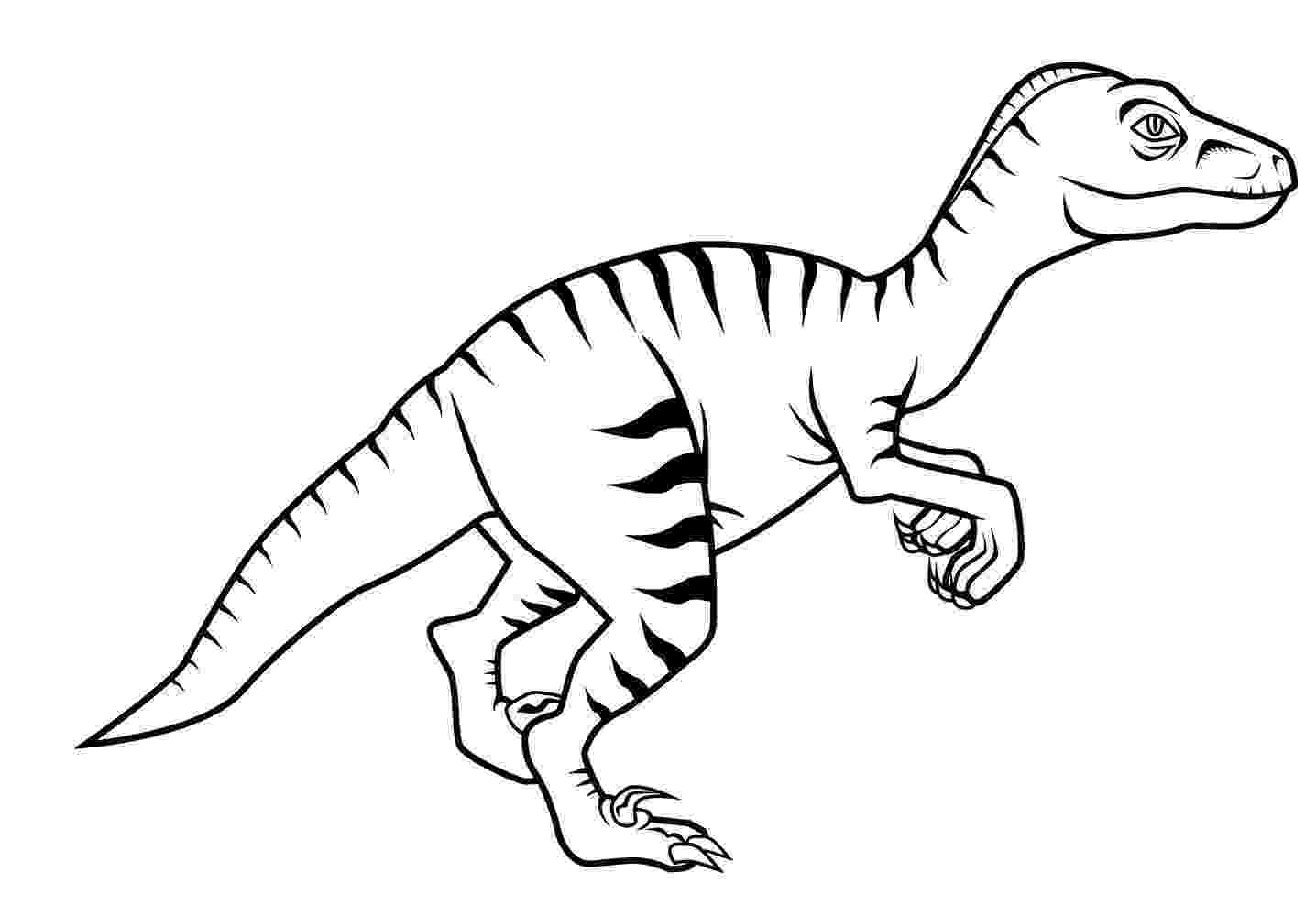 colouring pages velociraptor free new dinosaur velociraptor coloring pages for kids colouring velociraptor pages