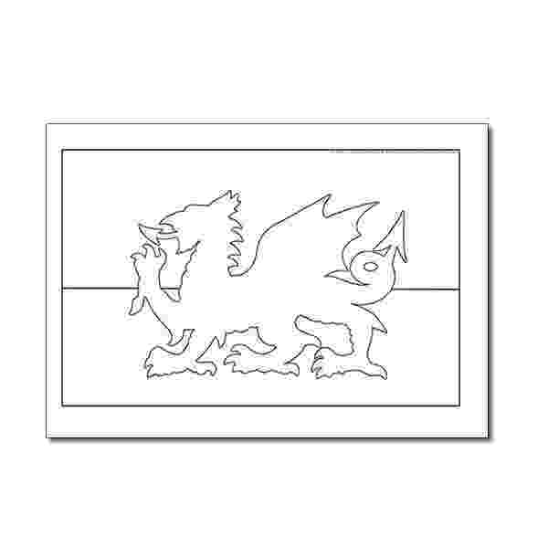 colouring pages welsh dragon colouring sheet welsh flag wales flag st dwynwens day welsh colouring dragon pages