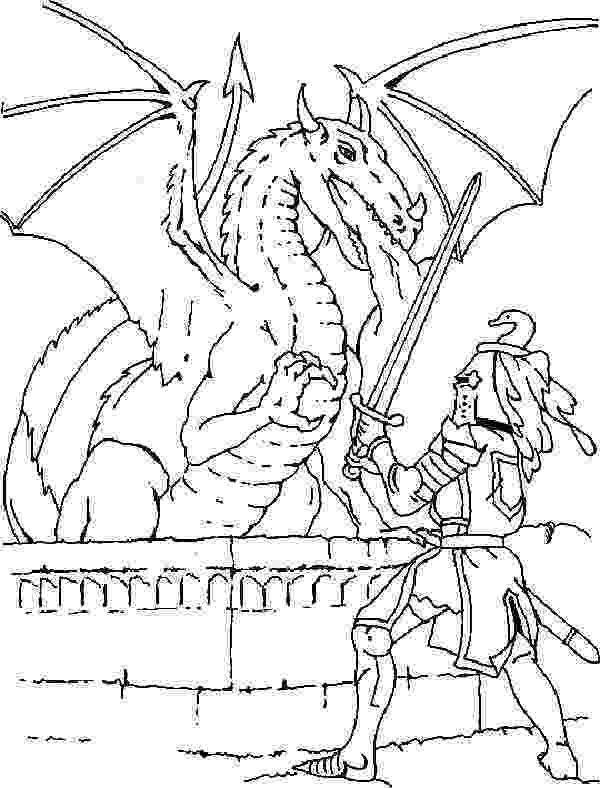 colouring pages welsh dragon knight fighting a dragon coloring page coloring dragon pages dragon welsh colouring