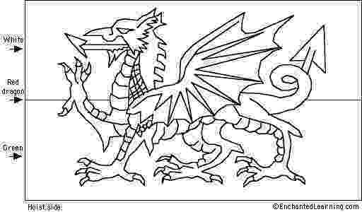 colouring pages welsh dragon welsh flag ink flag coloring pages dragon coloring pages welsh dragon colouring