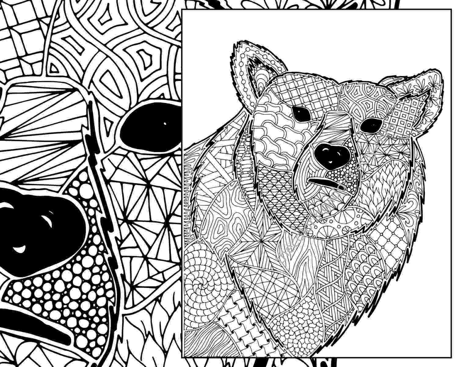 colouring pages zentangle a little color every day march 2010 pages colouring zentangle