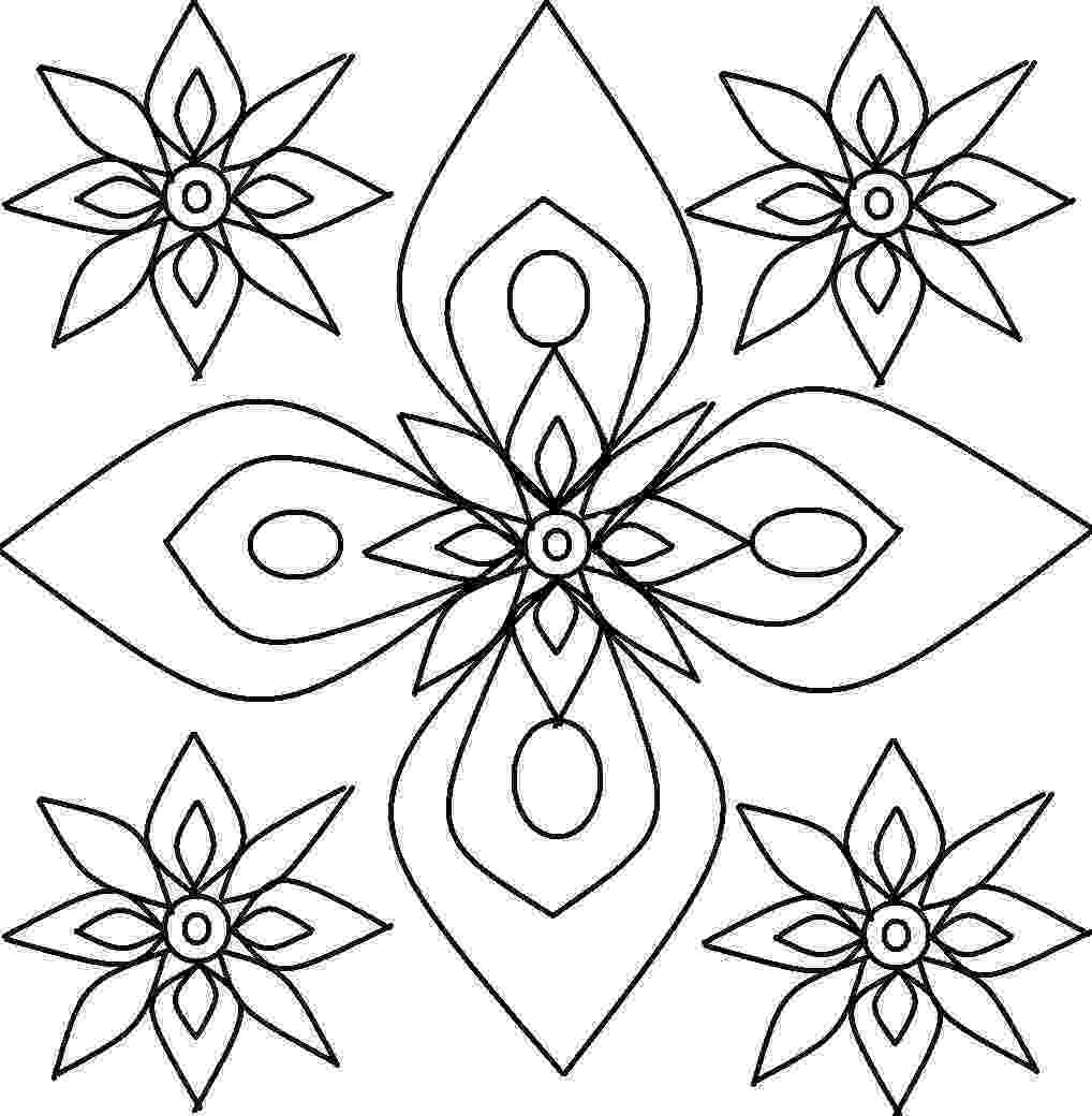 colouring patterns free printable rangoli coloring pages for kids colouring patterns 1 1
