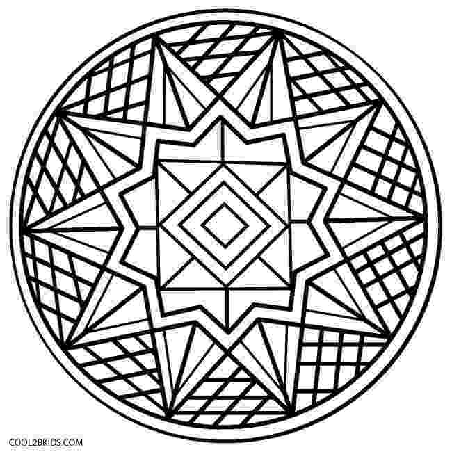 colouring patterns printable kaleidoscope coloring pages for kids cool2bkids patterns colouring