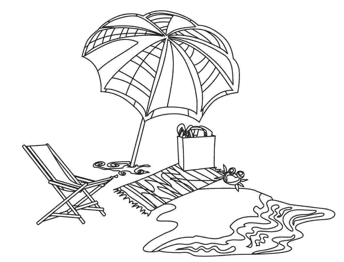 colouring picture beach free printable beach coloring pages for kids picture colouring beach
