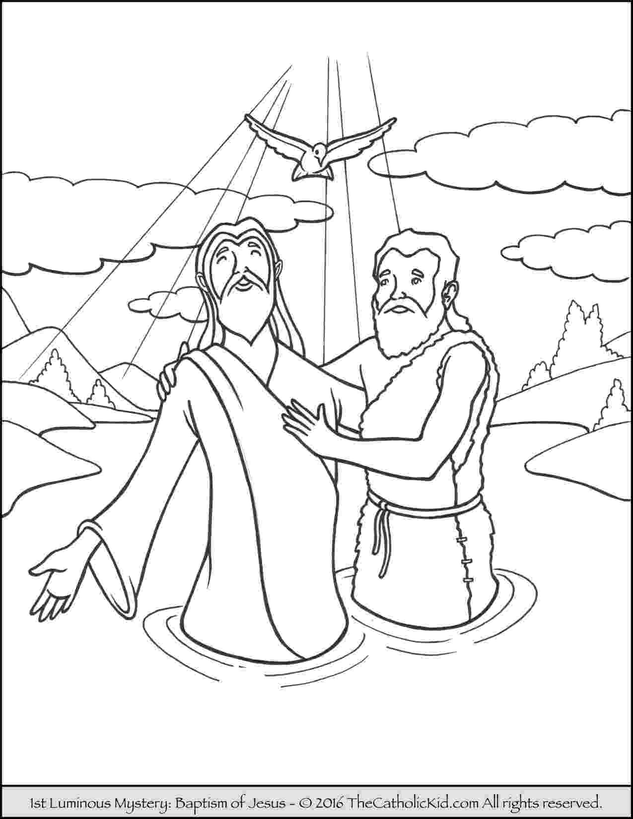 colouring picture jesus baptism john the baptist coloring pages printable at getcolorings jesus colouring picture baptism