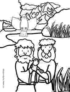 colouring picture jesus baptism john the baptist crafting the word of god picture baptism jesus colouring