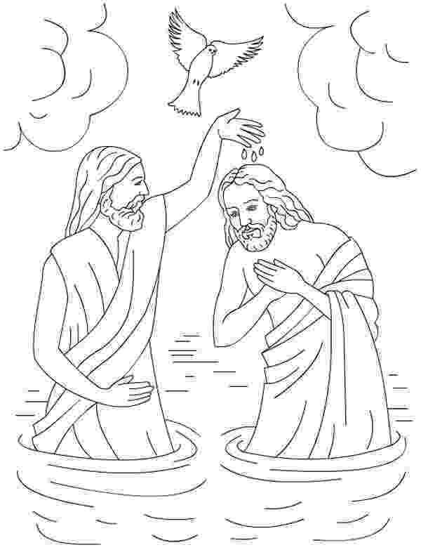 colouring picture jesus baptism the baptism of jesus in jesus love me colorig page baptism jesus colouring picture
