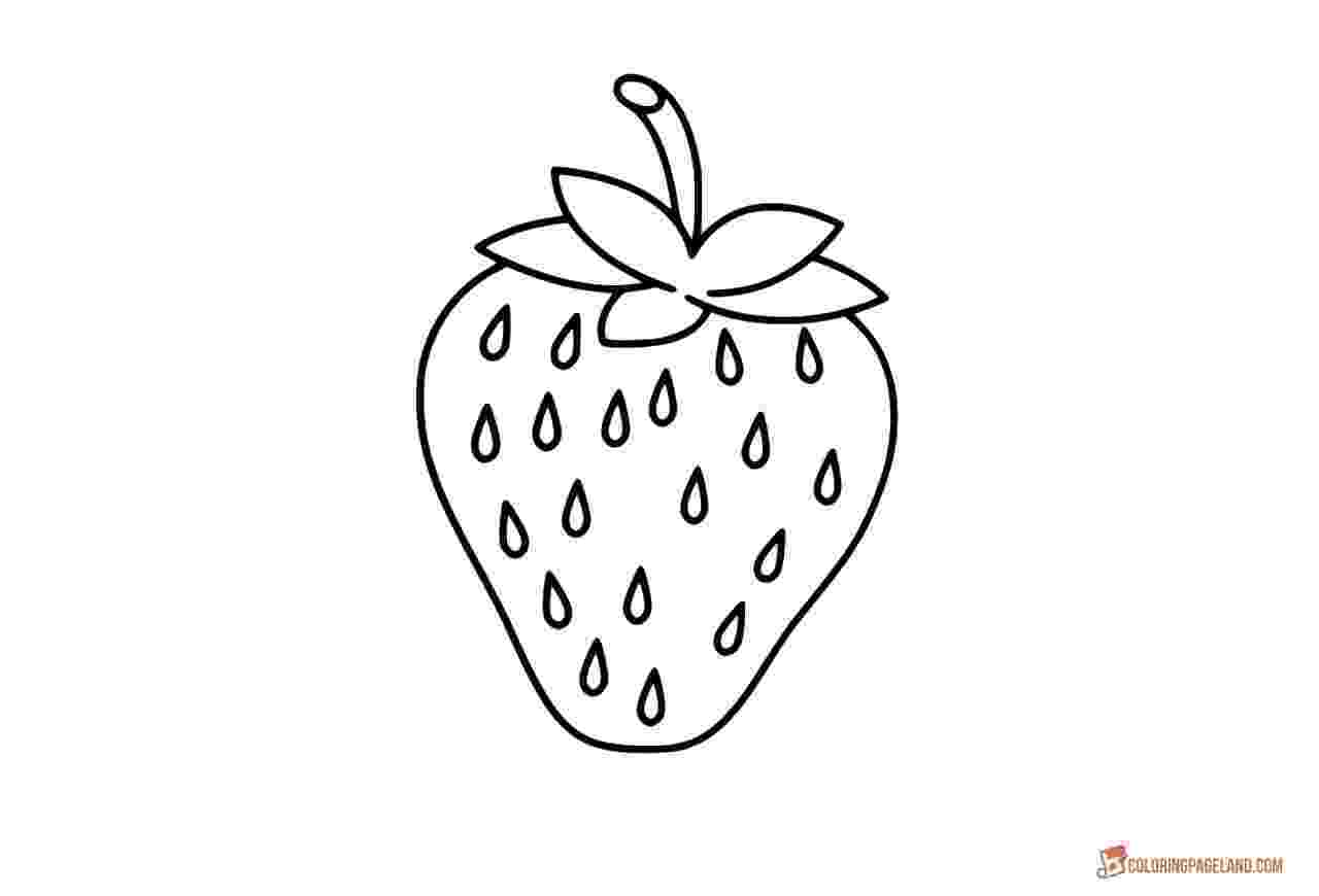 colouring picture of strawberry strawberry coloring sheet coloring kids coloring pages colouring strawberry picture of