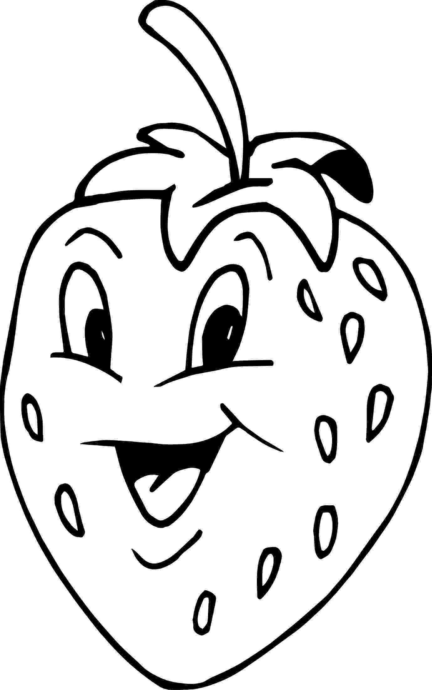 colouring picture of strawberry three strawberries coloring page free printable coloring of colouring picture strawberry