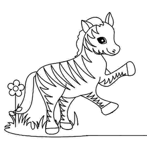 colouring picture of zebra funny little zebra coloring page download print online colouring picture zebra of