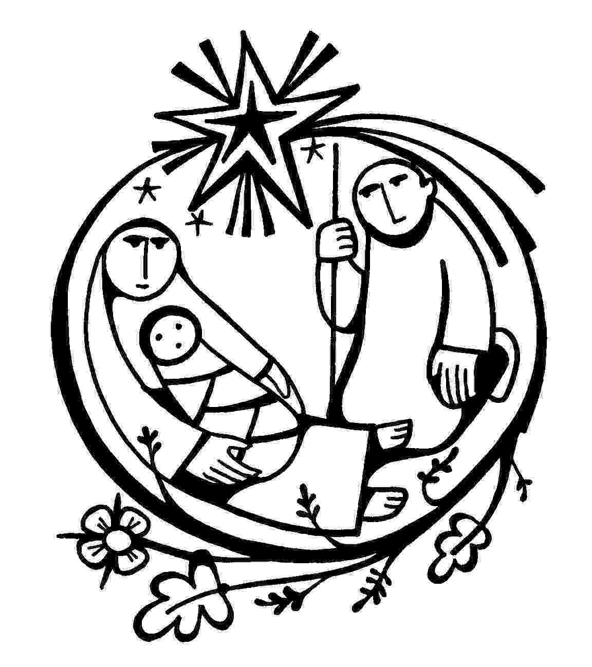 colouring pictures of baby jesus in a manger baby jesus manger coloring page coloring home jesus manger baby pictures colouring a of in
