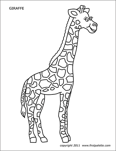 colouring sheet giraffe coloring town sheet colouring giraffe
