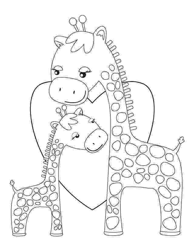 colouring sheet giraffe cute giraffe coloring pages getcoloringpagescom colouring sheet giraffe