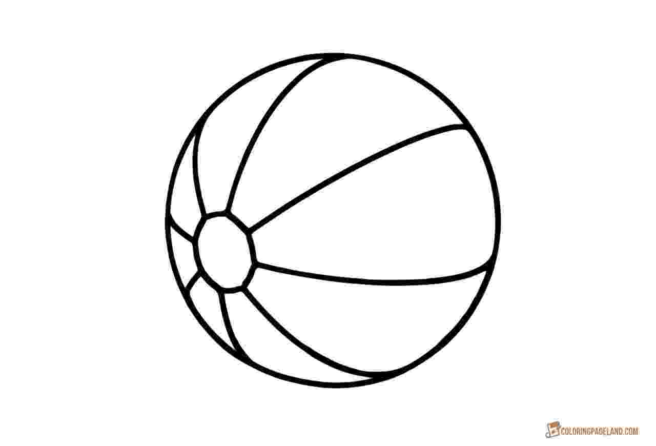colouring sheet of ball beach ball coloring page coloring pages for kids ball colouring sheet of