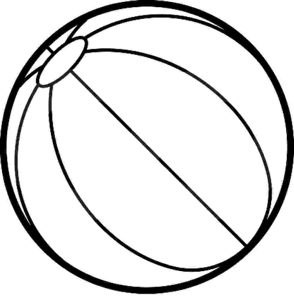 colouring sheet of ball beach ball printable free download on clipartmag of ball sheet colouring