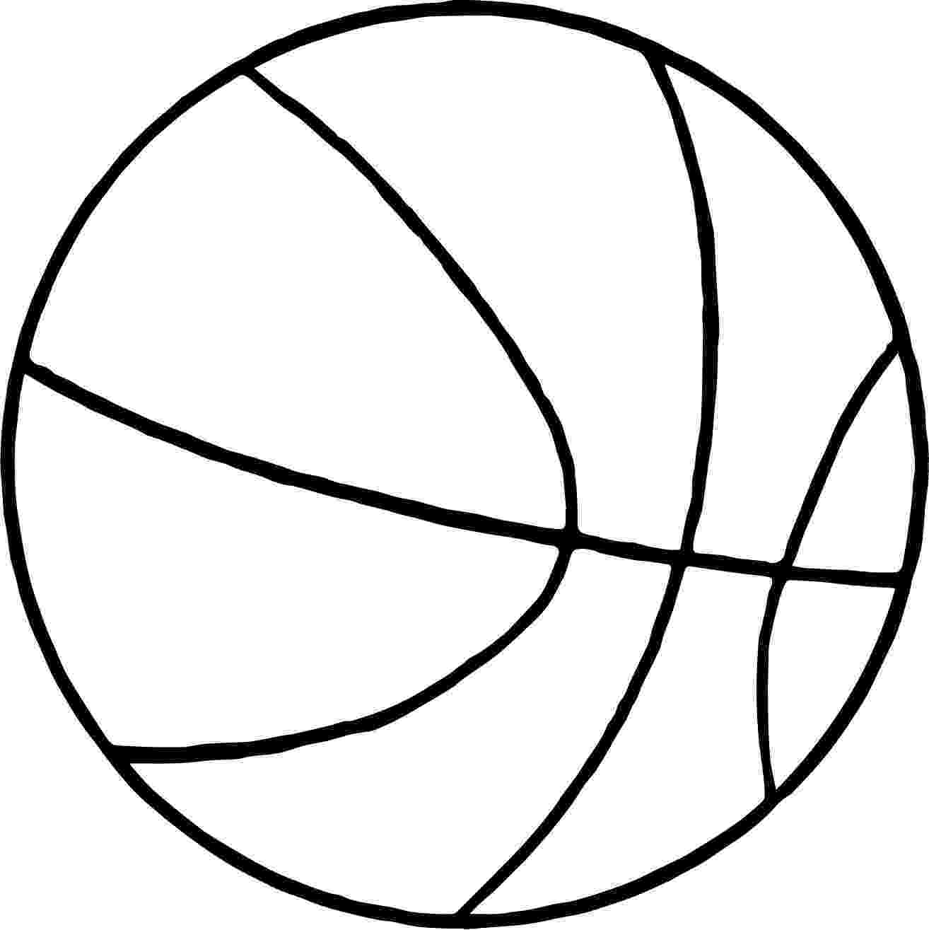 colouring sheet of ball thin basketball ball coloring page wecoloringpagecom of colouring sheet ball
