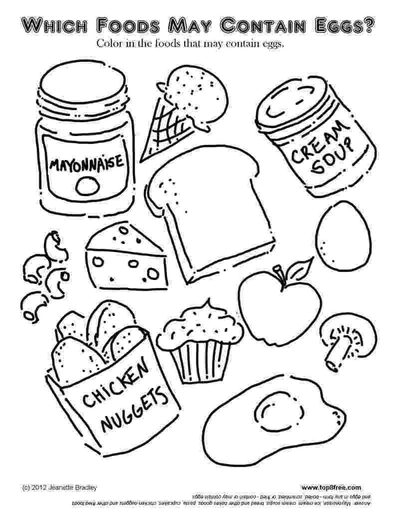 colouring sheets food foods doodle coloring page printable cutekawaii coloring food colouring sheets