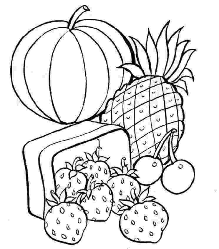 colouring sheets food free printable food coloring pages for kids sheets colouring food