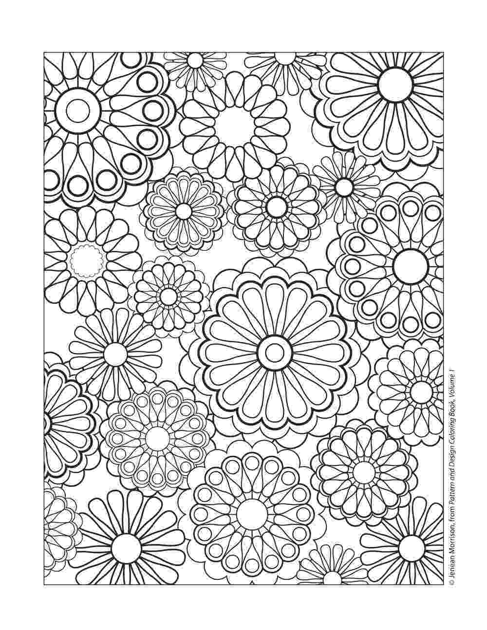 colouring sheets patterns floral pattern coloring page free printable coloring pages sheets colouring patterns