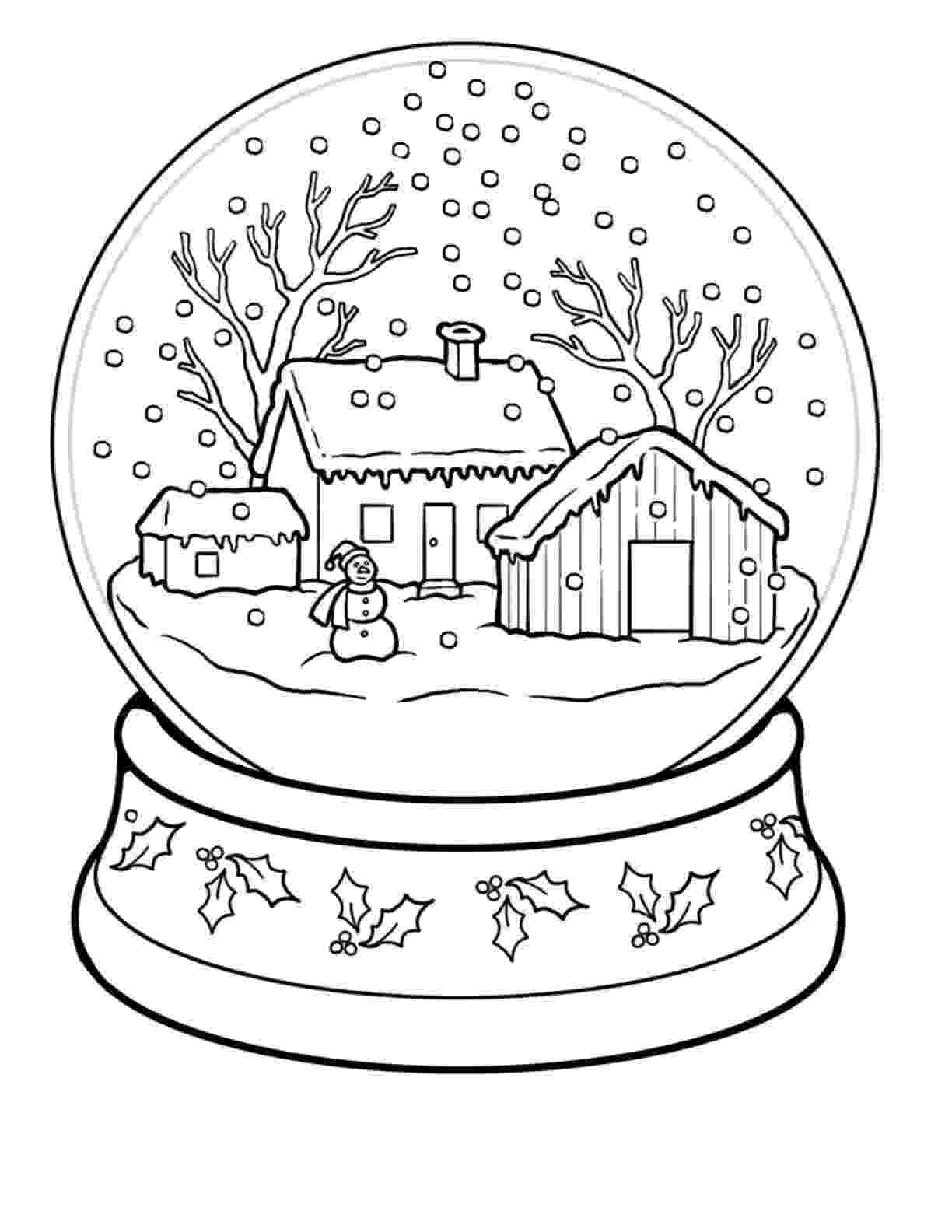 colouring sheets winter free winter printables winter colouring sheets