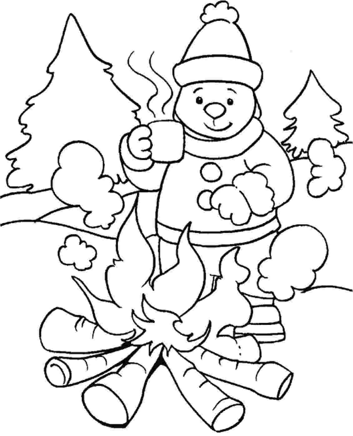 colouring sheets winter winter season coloring pages crafts and worksheets for sheets colouring winter