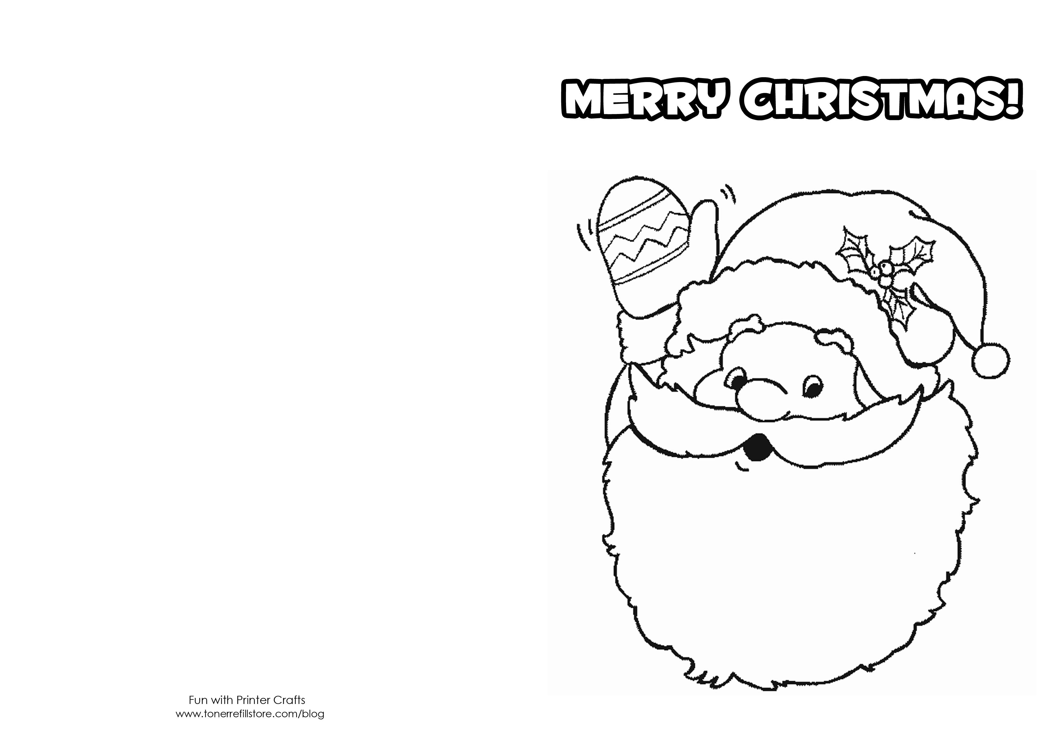 colouring templates christmas how to make printable christmas cards for kids to color templates colouring christmas