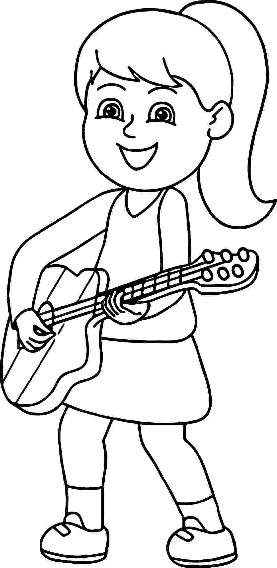 cool guitar coloring pages amazing acoustic guitar printables wood guitars free coloring pages cool guitar
