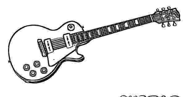 cool guitar coloring pages electric rock and roll guitar coloring sheet at coloring cool guitar pages