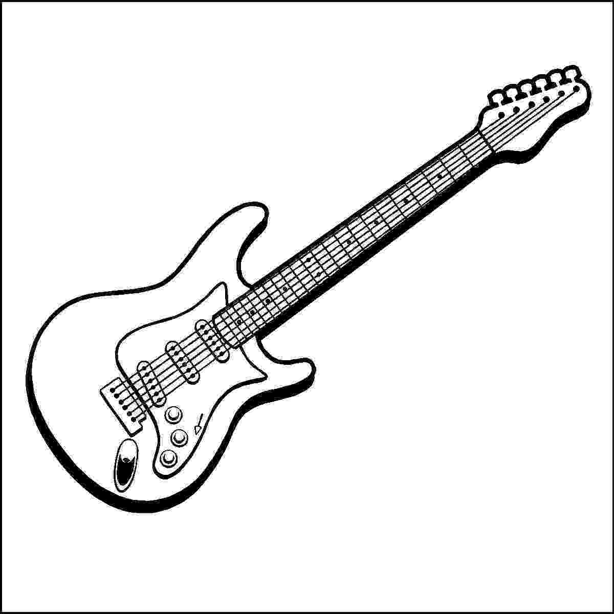 cool guitar coloring pages free printable coloring page for your kids page 35 guitar cool coloring pages