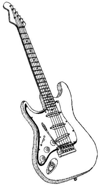 cool guitar coloring pages guitar coloring page coloring pages guitar sketch cool cool pages coloring guitar