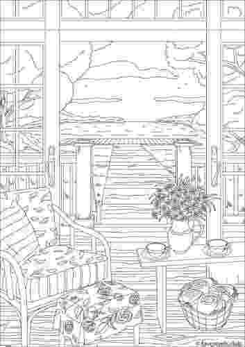 country colouring pages backyard scene adult coloring pages pinterest colouring pages country
