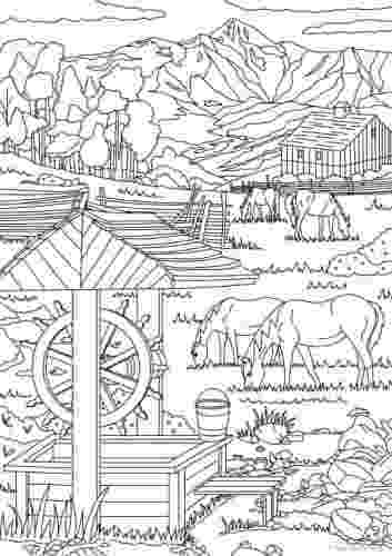 country colouring pages country farm coloring book an adult coloring book with colouring country pages