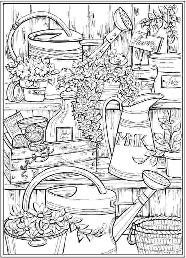 country colouring pages country spring little girl printable adult coloring pages country colouring