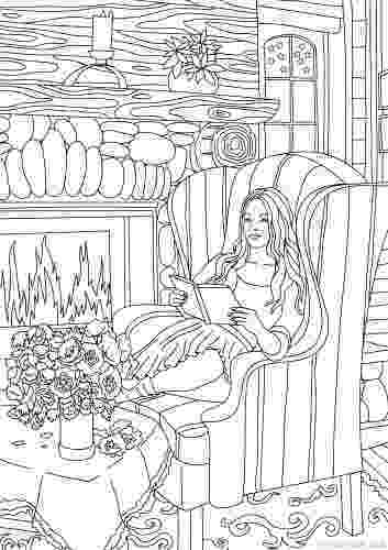 country colouring pages country spring printable adult coloring pages from favoreads country pages colouring