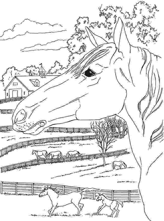 country colouring pages from creative haven country scenes coloring book pages country colouring