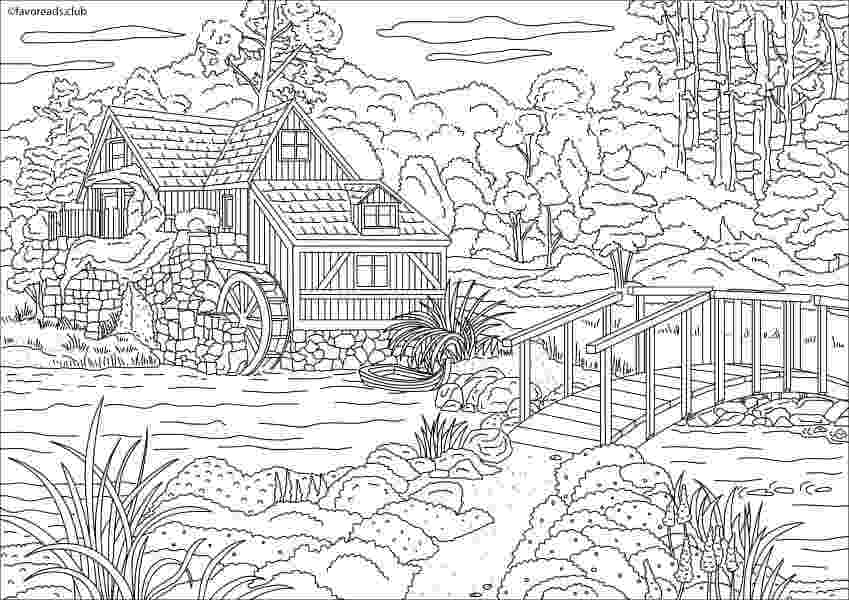 country colouring pages smp craft books part 2 pages country colouring