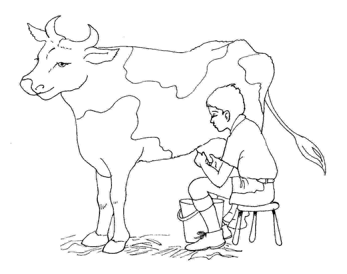 cow coloring pages cute cow animal coloring books for kids drawing pages cow coloring