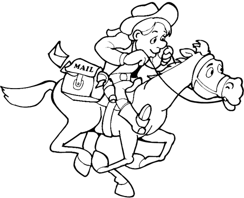 cowboy coloring pages cowboy coloring pages 360coloringpages cowboy pages coloring
