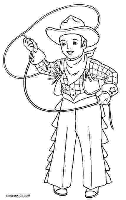 cowboy coloring pages cowgirls coloring pages getcoloringpagescom cowboy coloring pages