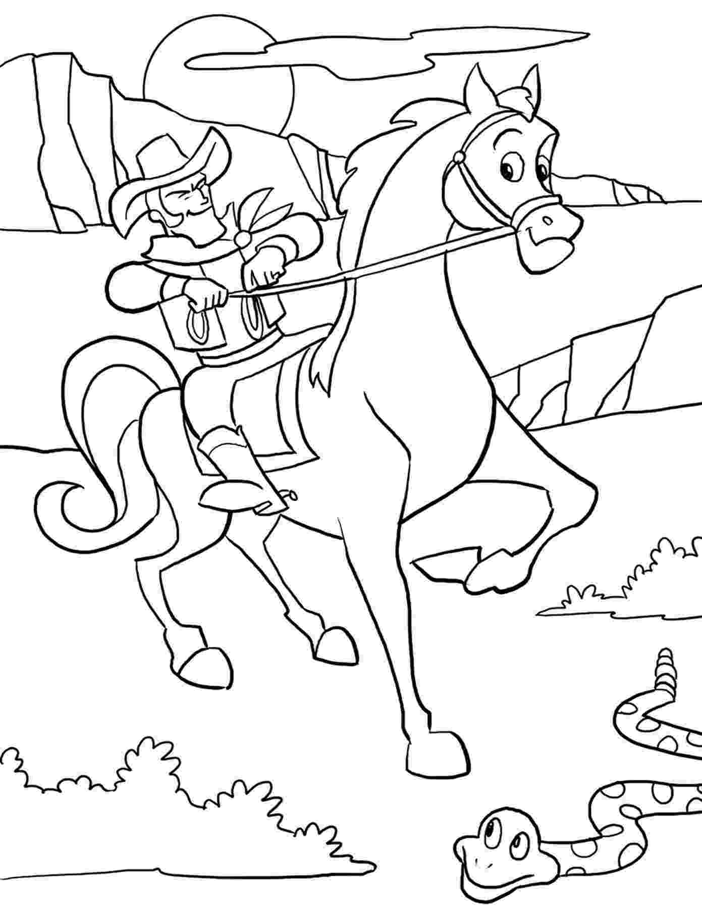 cowboy coloring pages free printable cowboy coloring pages for kids cowboy pages coloring