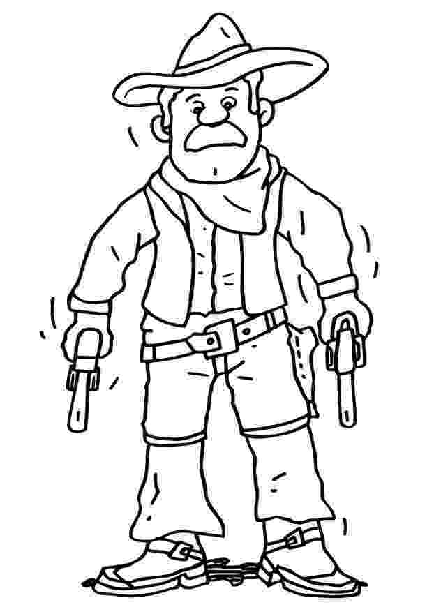 cowboy coloring pages printable cowboy coloring pages for kids cool2bkids pages coloring cowboy